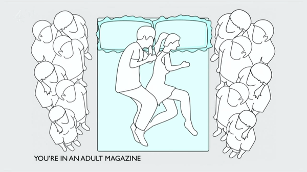 what do your sleeping positions say about you 9