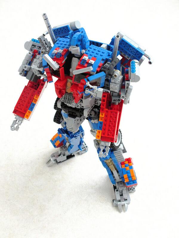 LEGO Optimus Prime 5