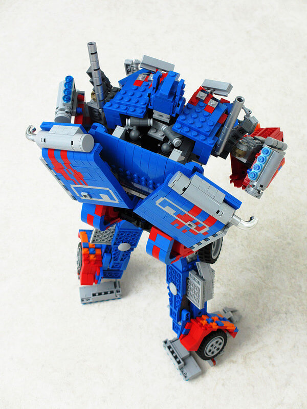 LEGO Optimus Prime 7