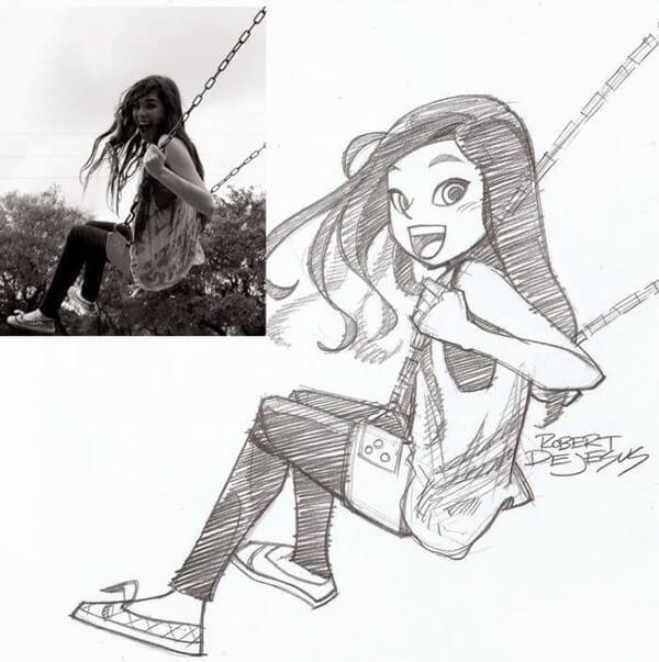 dejesus Anime Drawings 8