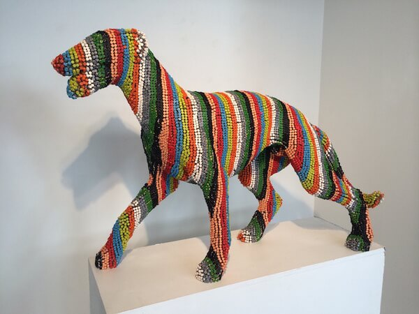 Herb Williams crayon dog sculptures 5