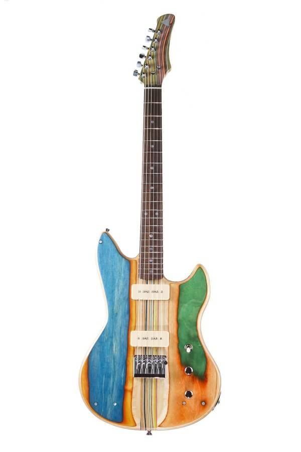 guitars from recycled skateboards 5