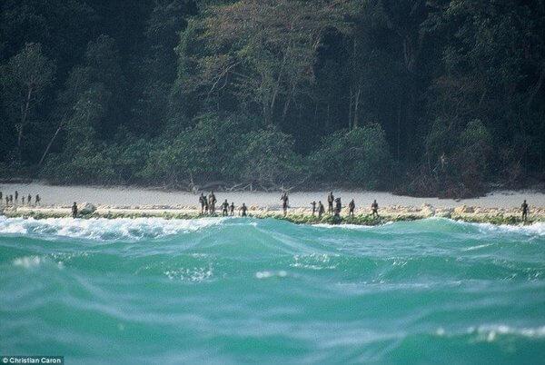 Sentinelese tribe. 20