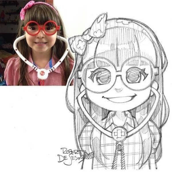 dejesus Anime Drawings 10