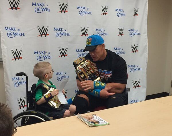 Heartwarming Thank You to John Cena 2