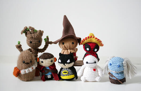 superheroes crochet 8