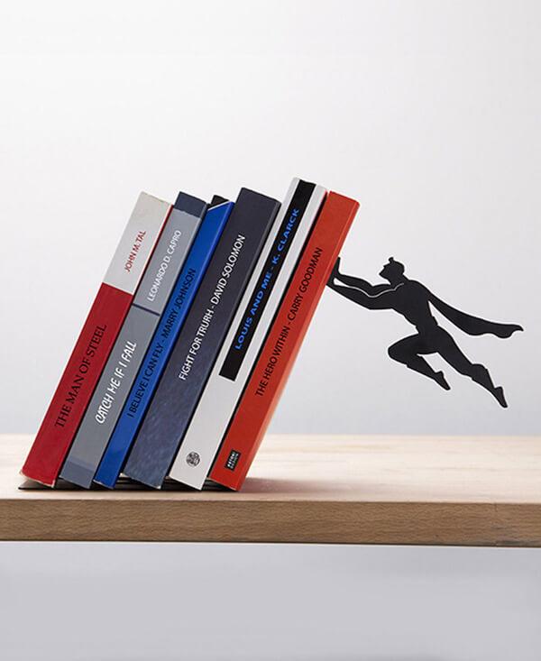 super hero book stand 2