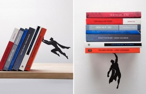 super hero book stand 1
