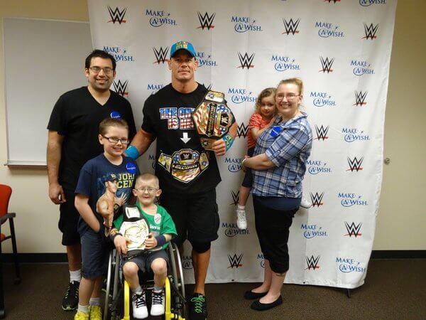 Heartwarming Thank You to John Cena 3
