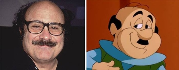 cartoon characters as real people 19