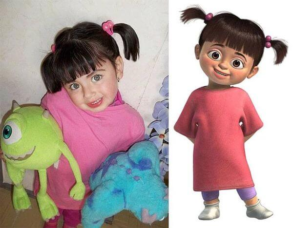 cartoon characters as real people 1