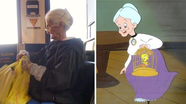 cartoon characters as real people 4