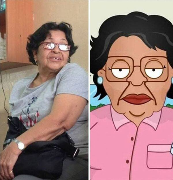 cartoon characters as real people 5