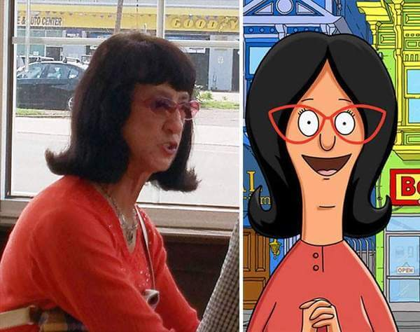 cartoon characters as real people 10