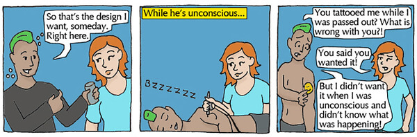 consent explained with simple comics 4