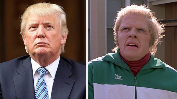 Donald trump looks like 5