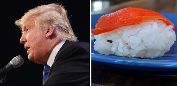 Donald trump looks like 13