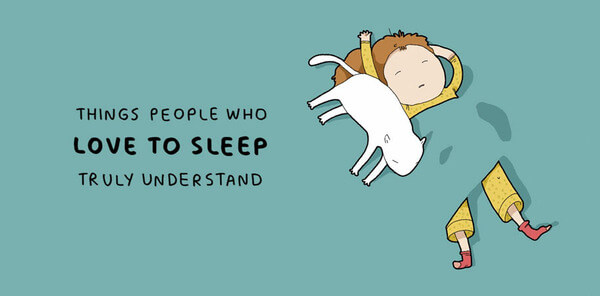 Illustrations That People Who Love Sleeping Will Understand 2