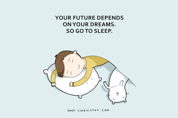 Illustrations That People Who Love Sleeping Will Understand 9