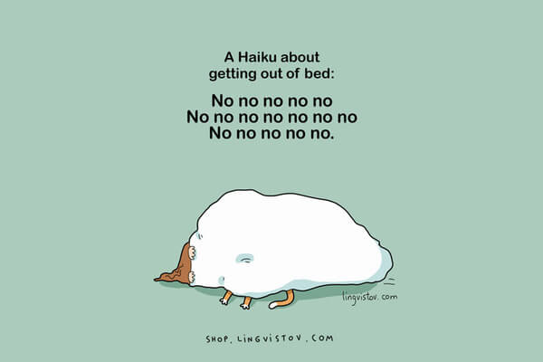 Illustrations That People Who Love Sleeping Will Understand 3
