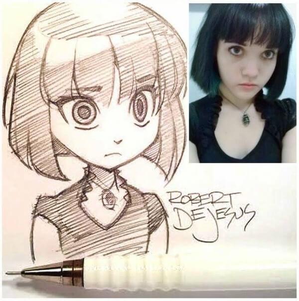 dejesus Anime Drawings 7