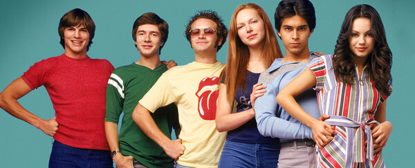 that 70's show cast now and then 22