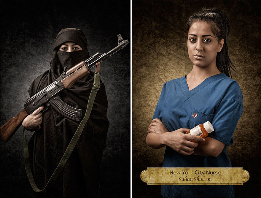 racial prejudice photo series 2