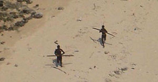 Sentinelese tribe. 25