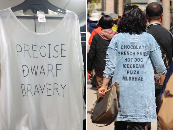 21 Poorly Translated Asian Shirts That Don T Give A Damn
