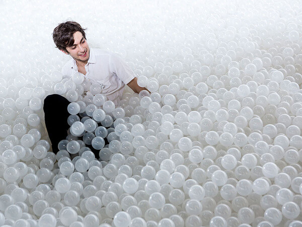 million balls pit in museum 6