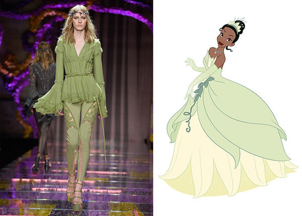 if Disney characters wore couture gowns 6