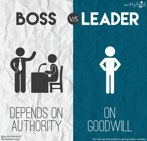 the difference between a boss and a leader 2