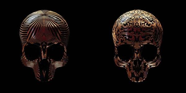 decorated skulls 5