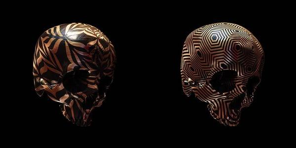decorated skulls 13