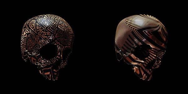 decorated skulls 19