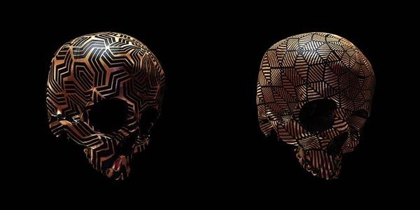 decorated skulls 20