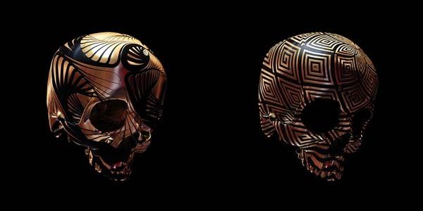 decorated skulls 21