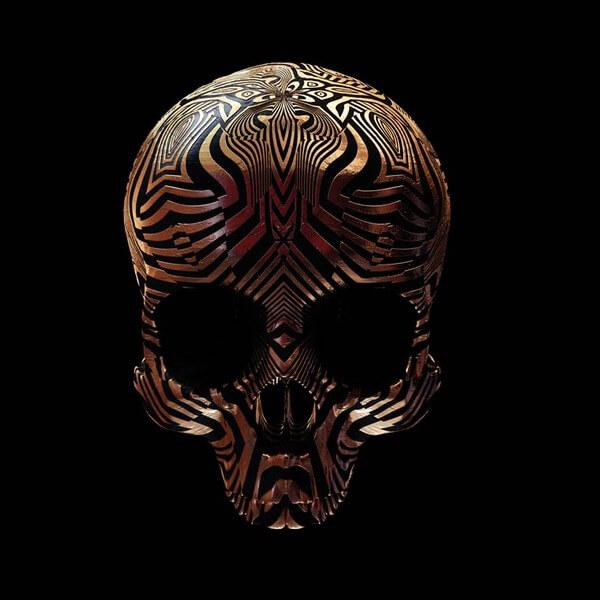decorated skulls 6