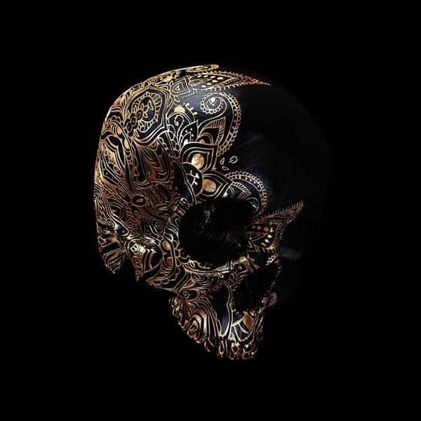 decorated skulls 8