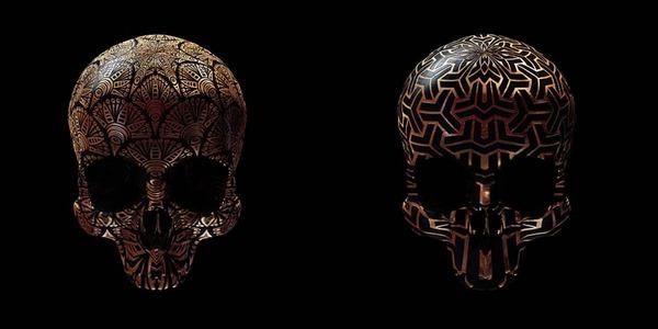 decorated skulls 22