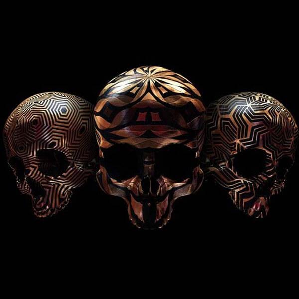 decorated skulls 25