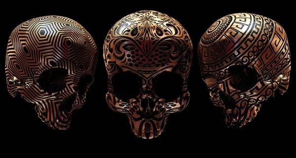decorated skulls 3