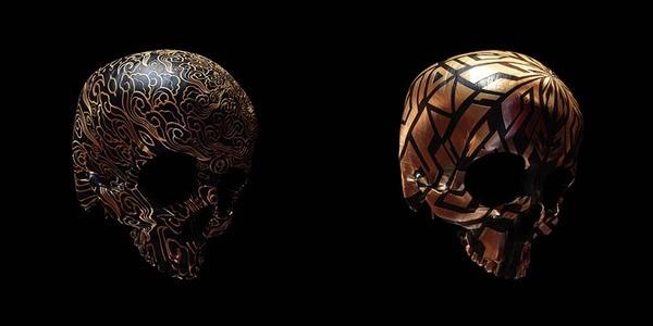 decorated skulls 9