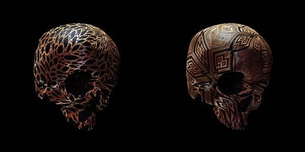 decorated skulls 10