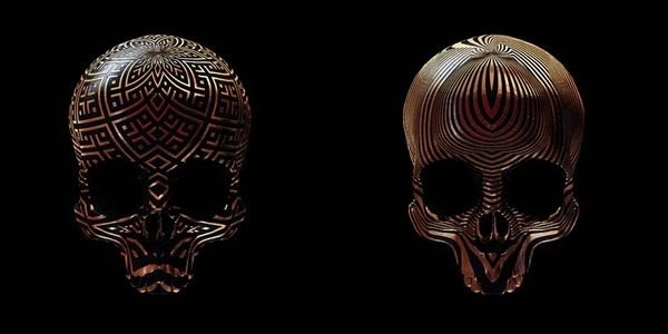 decorated skulls 11