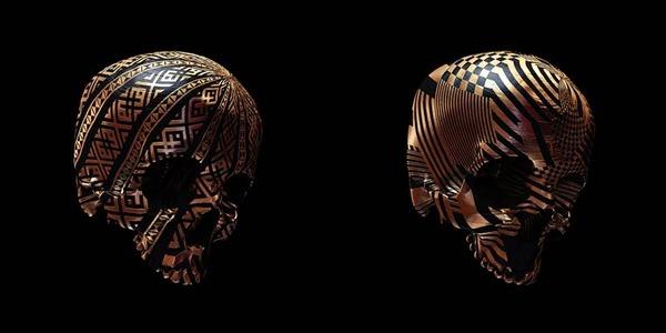 decorated skulls 12