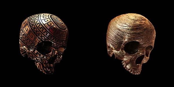 decorated skulls 15