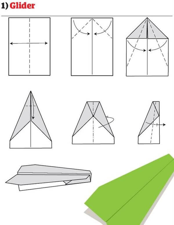 Here's How To Make Cool Paper Air Planes
