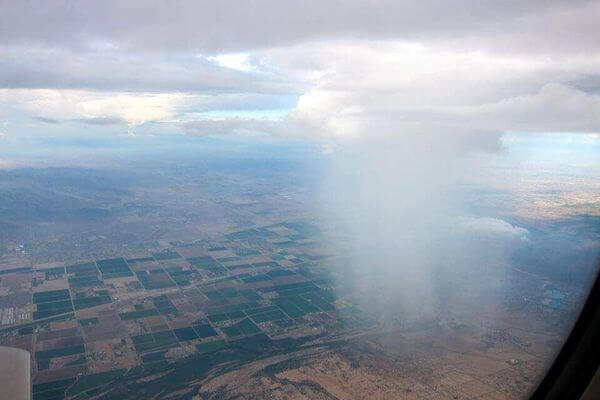 awesome rain from a plane 1