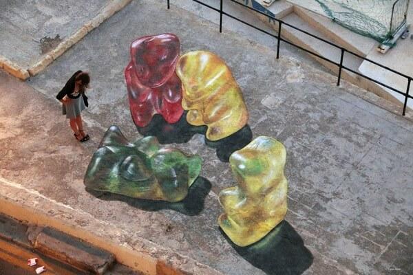 gummy bear paintings 1